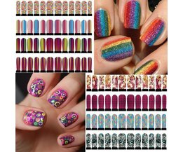 Art Nail Colorful Stickers