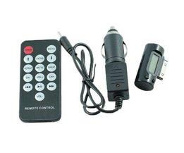 Transmetteur FM Voiture Pour IPad / IPhone / IPod
