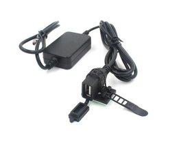 Chargeur USB Étanche Pour Voiture Ou Moto
