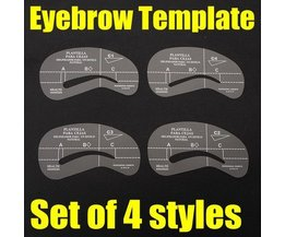 Template To Give Sourcils Shape (4 Pieces)