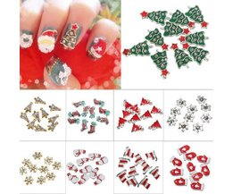 Décorations 3D For Christmas Nail Art