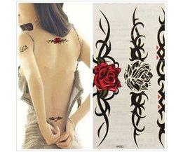 Roses De Tatouage Temporaire