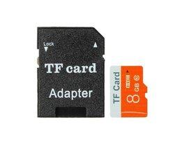8GB Micro SD Carte TF Avec Adaptateur
