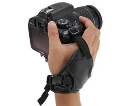 Caméra En Cuir Dragonne