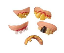Faux Teeth 5 Pièces