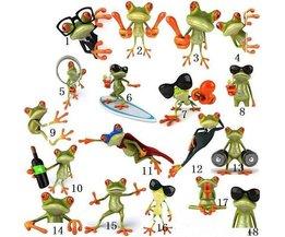 3D Car Sticker A Frog