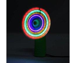 Mini Ventilateur Avec La Lumière LED