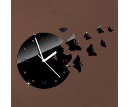 Papillon Clock 3D