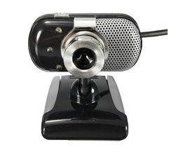 Mini Webcam Avec Des Lumières LED