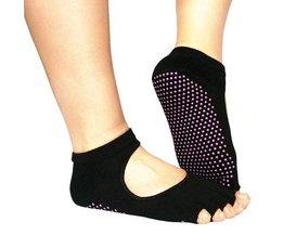 Anti-Slip Yoga Chaussettes Sans Toes