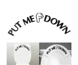 Autocollants Drôles De Toilette