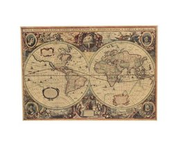 Old Sea Chart 1641