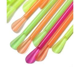 Cuillère En Plastique Straws