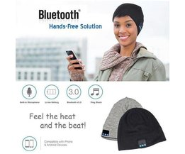 Bluetooth Hat For Easy Music Play In Winter