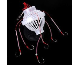 Fishing Tackle Avec 6 Crochets