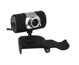 Webcam USB Avec Microphone Et Caméra