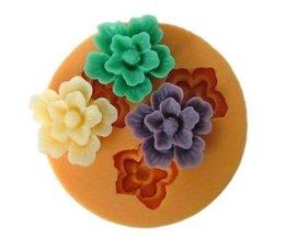 Fleurs Moule À Gâteau En Silicone