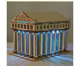 Temple Of Zeus DIY 3D Puzzle En Bois