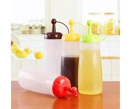Recyclable Sauce De Bouteilles En Plastique