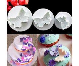 Papillon Bakvorm 3 Pieces
