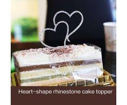 Gâteau Décorations Coeurs