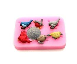 Moules À Chocolat Oiseaux