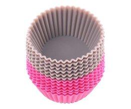 12 Cupcakevormen Silicone