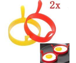 Egg Bakring 2Pcs Silicone