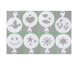 8 Différents Modèles Cappuccino Plastique