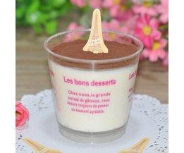 Décorations Pour Les Gâteaux Eiffel 50 Pieces