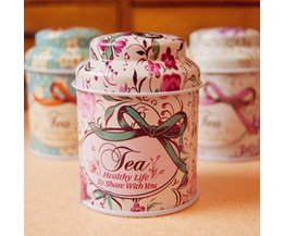 Teabox Mini Avec Floral Mentions Légales