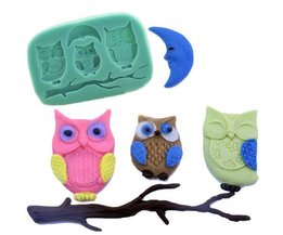 Silicone Bakeware 3D Owls