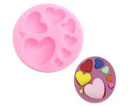 Heart Shaped Bakeware Silicone 3D