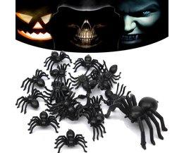 Spiders Plastique 20Pieces