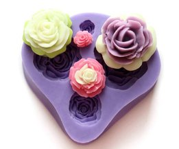 Moule Silicone Avec Roses