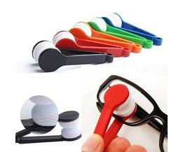 Microfibre Chiffons Glasses Si Brush