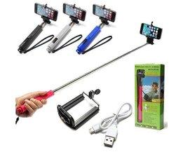 Selfie Stick Avec Bluetooth Pour Smartphones