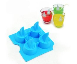 Silicone Ice Cube Fins Shape Shark