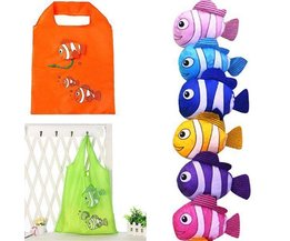 Pliable Poisson Shopping Bag