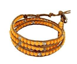 Bracelets En Perles En Cinq Couleurs