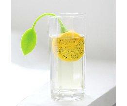 Silicone Passoire À Thé Citron En Forme