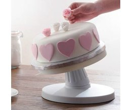 Tilting Gâteau Stand Avec Anti-Dérapant Surface