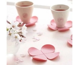 Belle Silicone Fleurs Coasters