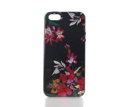 Case Pour IPhone 5 & 5S Avec Motif De Fleurs
