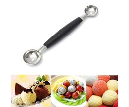 Pomme Parisienne Drilling / Boules Spoon Sided