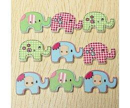 100 Elephant Mignon Boutons
