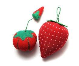 Pincushion Tomato And Strawberry