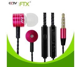 FTX Basse Écouteurs Avec Microphone JTX F801