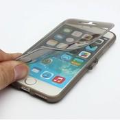 Transparent Case Flip Pour IPhone 6
