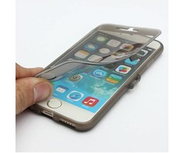 Transparent Case Flip Pour IPhone 6
